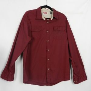 Wrangler Premium Quality Mens Shirt L n1